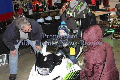 Association of Wisconsin Snowmobile Clubs V.I.P. Show and Ride