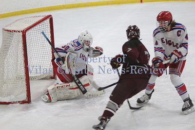 Northland Pines Boys Hockey vs. Antigo Red Robins