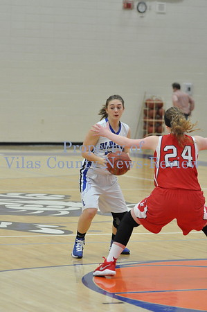 WIAA Girls Basketball Regional Semifinal: Three Lakes vs. Wausaukee Rangers
