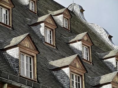 Rooftop in Koblenz