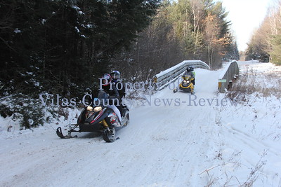 Holiday Snowmobiling
