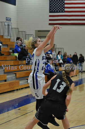 Three Lakes Girls Basketball vs. Wisconsin Valley Lutheran Wolves
