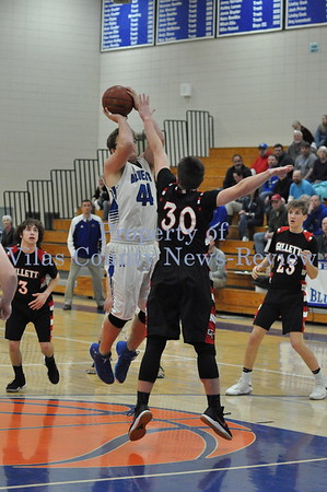 WIAA Boys Basketball Regional Semifinals: Three Lakes vs. Gillett/Phelps vs. Florence