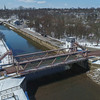 James Neiss/staff photographer <br /> Lockport, NY - The Exchange Street lift bridge probably won't see much action until work at the Lockport Locks is completed.