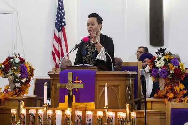 181108 Interfaith non-violence service 4