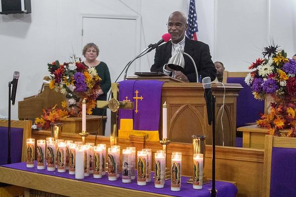 181108 Interfaith non-violence service 2