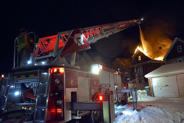 22nd Street fire 1