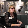 "JOED VIERA/STAFF PHOTOGRAPHER-Lockport, NY-Dayna Banka-Slone sells jewelry at the Kenan Center during their 100 Craftsman event. Dayna has been making jewelry out of silver, copper, bronze, clay and semi precious stones for 20 years. She has been in the Kenans show for the past 13 years and considers it ""The best show in the area bar none"""