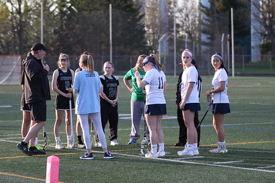Howard vs Atholton Girls Lacrosse on Senior Night - April 27, 2018