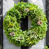 Large Round Rustic Wreath