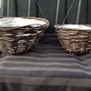 "12"" & 14"" Wicker Hanging Baskets"