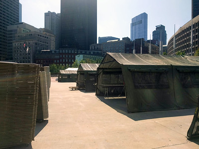 2018 Greater Boston Stand Down set-up.