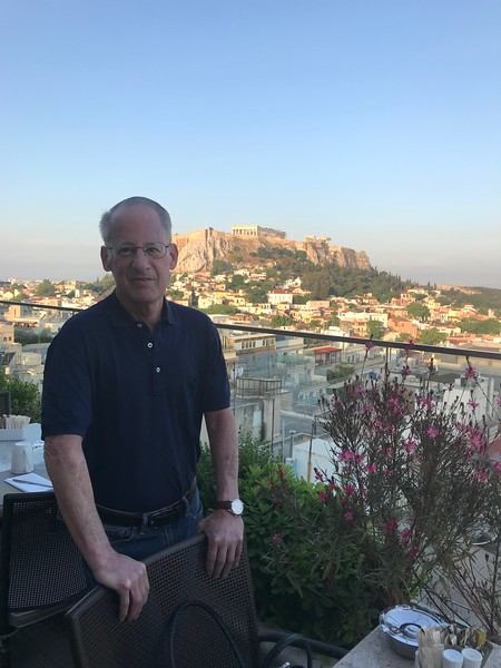 Breakfast with a view, Athens