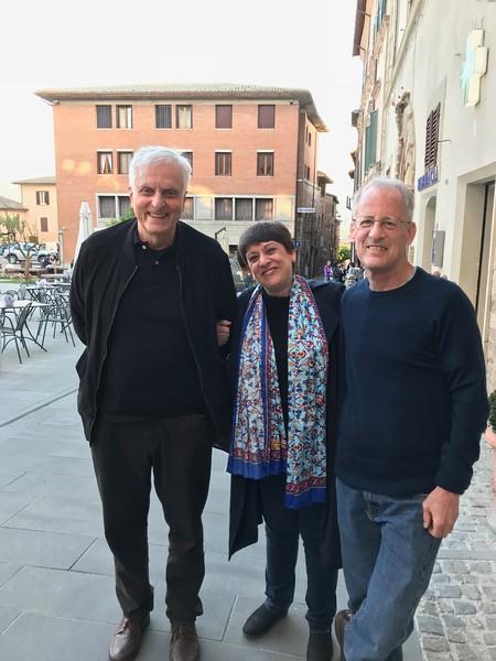 Enrico Vito, Rosa, and Neal, Spello