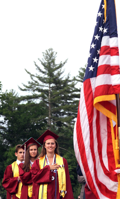 . Scenes from Groton-Dunstable HS Graduation. SUN/David H. Brow