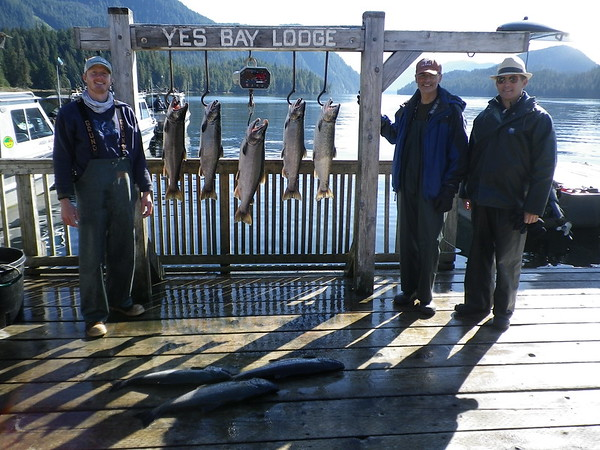 Yes Bay Lodge Blog Report: Yes Bay Lodge Blog Report