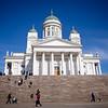 2018 April 12, Helsinki Finland, 'Helsinki Cathedral'