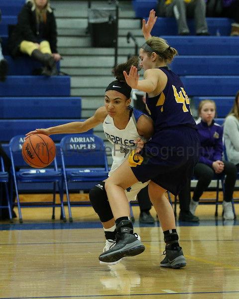 Adrian vs Onsted girls varsity high school basketball