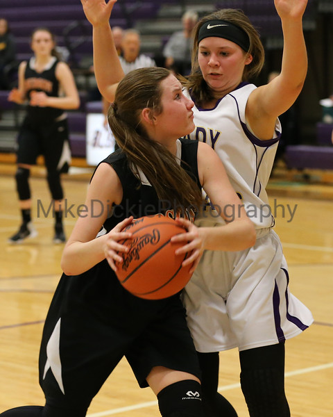 Blissfield vs Hudson girls basketball junior varsity