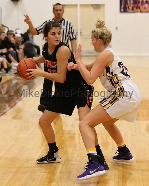 Blissfield vs Hudson girls varsity basketball