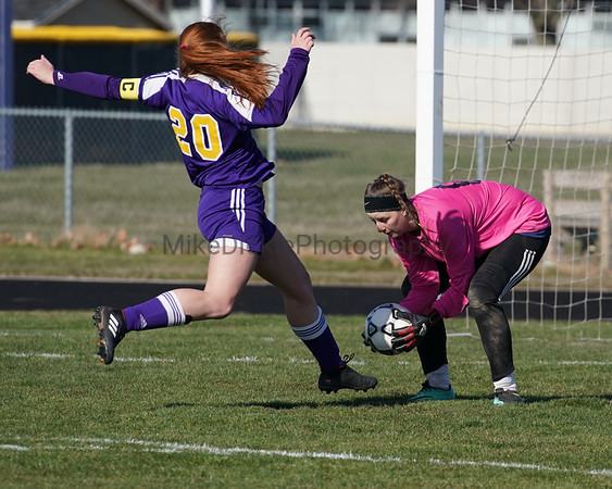 Blissfield vs Onsted girls high school soccer