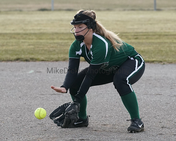 Sand Creek vs Grass Lake high school softball