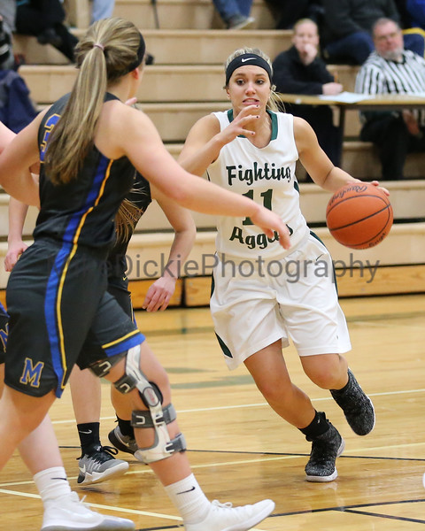 Sand Creek vs Madison girls basketball