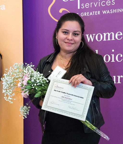 Kate Waller Barrett Scholarship Winner<br /> Ada Rodriquez (Senior, PEARLS Program)