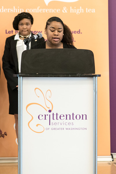 Crittenton Teen, Tamaya, 11th Grade, talks abotu Crittenton's new program for middle school-aged girls, Goal Setting Girls.