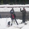 Snowshoeing at Morse Creek<br /> Chinook Pass