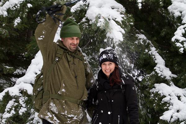 2018-01-21 Snowshoeing on Blewett Pass, Tronsen Loop Trails