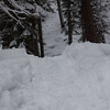 Snowshoeing Pleasant Valley Trail 999<br /> Pleasant Valley CG to Union Creek Falls<br /> Photographer: Jessica Taylor
