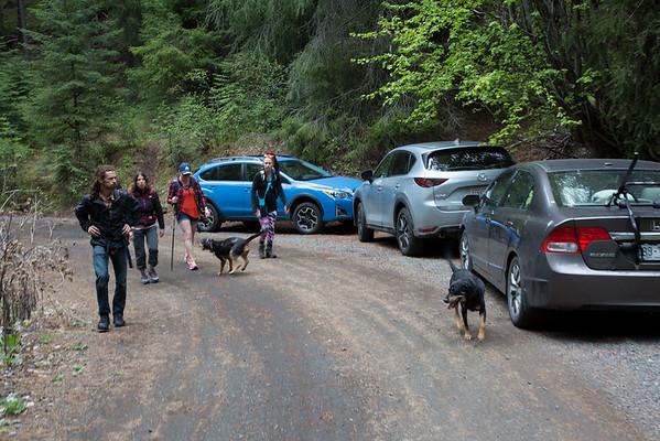 2018-05-06 Hiking on Chinook Pass: Edgar Rock
