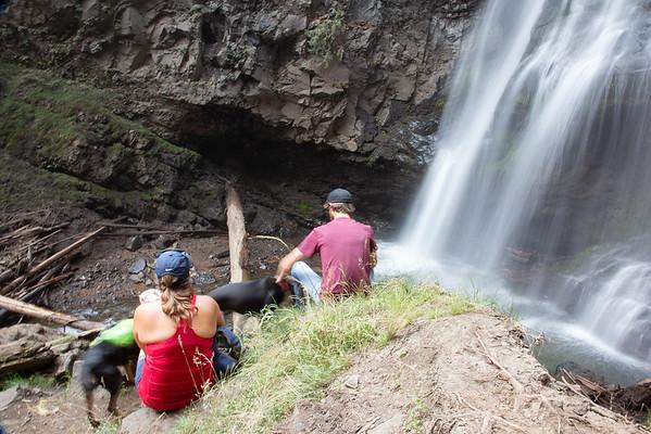 2018-08-19 Hiking on Chinook Pass: Union Creek Trail, Norse Peak Wilderness