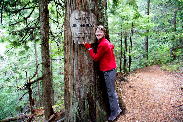 2018-09-12 Hiking on White Pass: Packwood Lake, Goat Rocks Wilderness