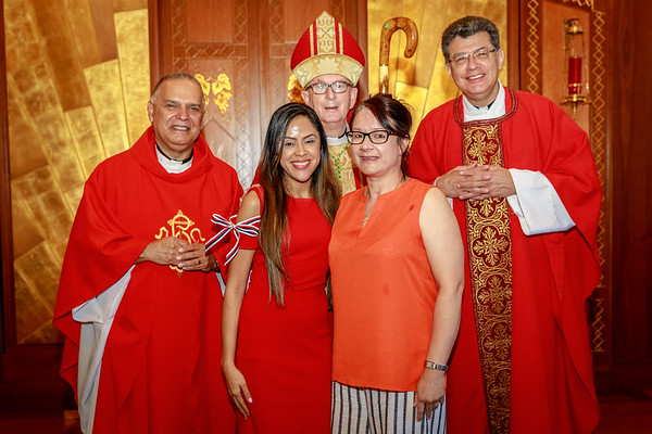 Posed Photos with Bishop