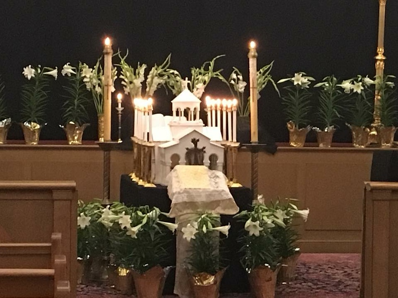 Good Friday Burial Service