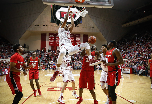 BLOOMINGTON, IN - 2017.12.29 - Men's Basketball vs. Youngstown State