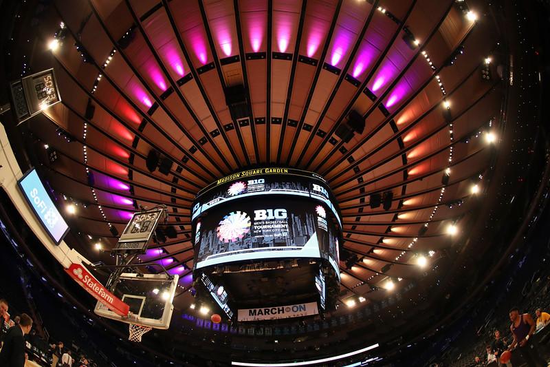 New York, NY - 2018.03.01 - Men's Basketball vs. Rutgers