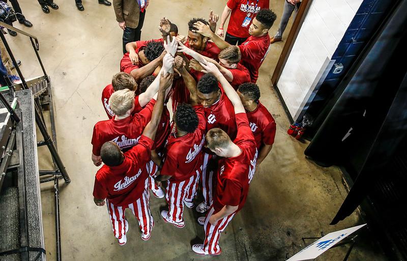 Big Ten Tournament, Men's Basketball vs. Wisconsin, 03/10/17, Evan De Stefano