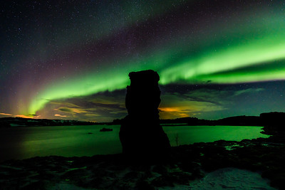 ICELAND, NORTHERN LIGHTS-5866