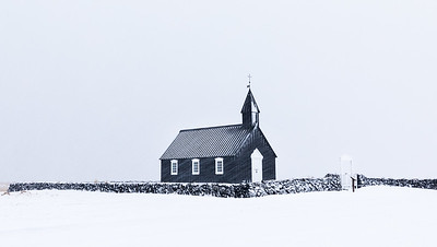 ICELAND, BUDIR BLACK CHURCH-5343