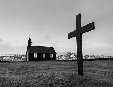 ICELAND, BUDIR BLACK CHURCH-5308-2