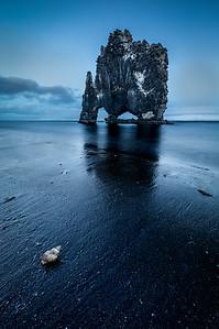ICELAND, HVITSERKUR,  DINOSAUR ROCK-5640