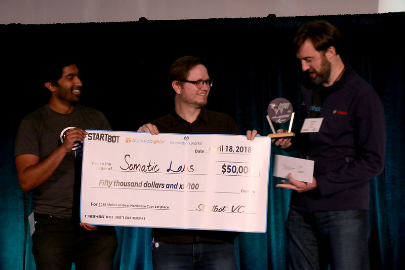Somatic Labs - First Place Winner!
