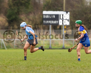20180218014 – All Ireland Intermediate Camogie League Tipperary v Dublin