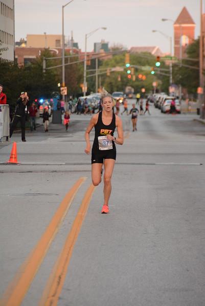 Indy Women's 5K finish