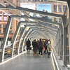 new walkway downtown Toronto between Eaton's Centre and the Bay on Queen St., notice Linda