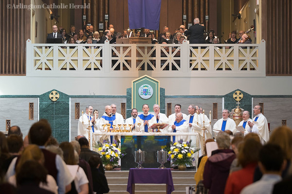2018 Chrism Mass - Cathedral of St. Thomas More