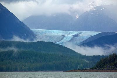 DA054,DT,Herbert Glacier near Juneau, Alaska
